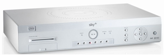 It's the Sky+ box - the nice new one...