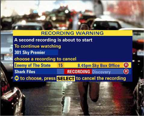 How does it feel to see Sky+ mention a 2nd recording?  It gave the Plusworld staff goosebumps!